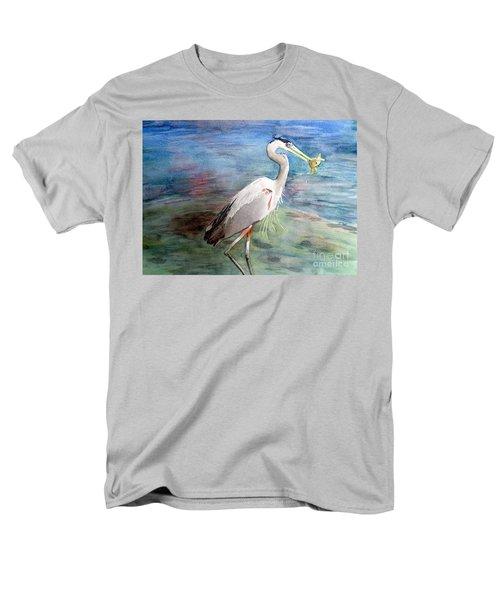 Lunchtime Watercolour Men's T-Shirt  (Regular Fit) by Laurel Best