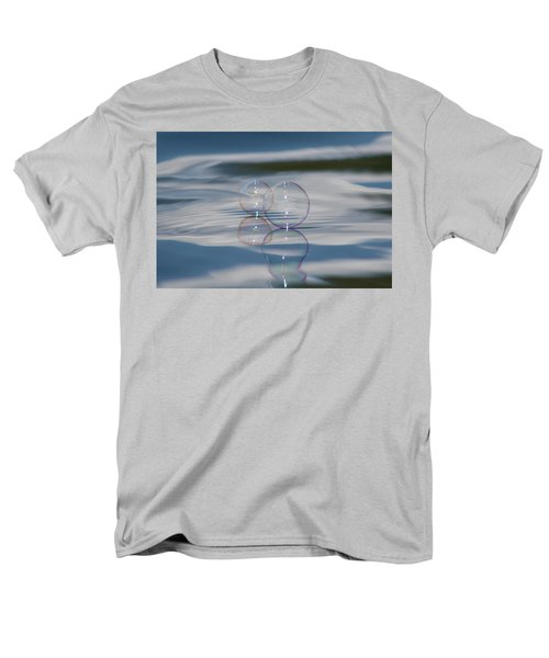 Men's T-Shirt  (Regular Fit) featuring the photograph Magic On The Water by Cathie Douglas