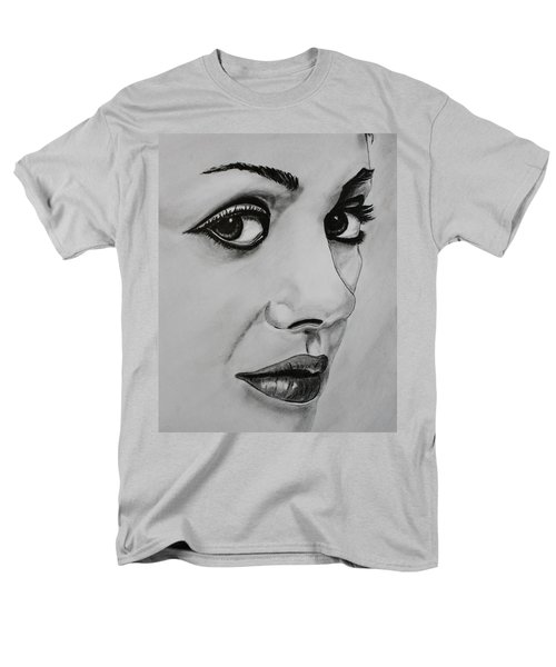 Men's T-Shirt  (Regular Fit) featuring the drawing Mila by Michael Cross