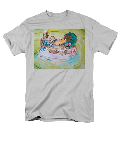 Men's T-Shirt  (Regular Fit) featuring the painting Nature's Music by Meryl Goudey