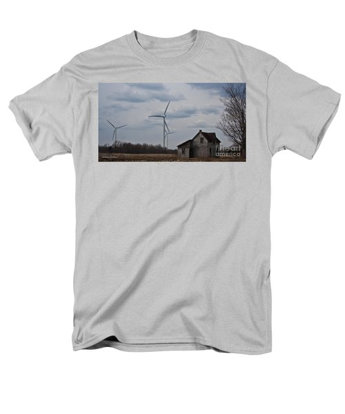 Men's T-Shirt  (Regular Fit) featuring the photograph Old And New by Barbara McMahon