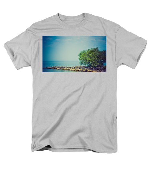 Men's T-Shirt  (Regular Fit) featuring the photograph Paradise Cove by Sara Frank