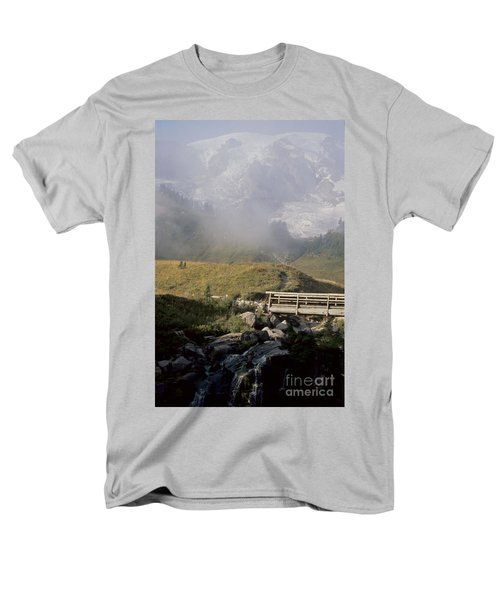 Men's T-Shirt  (Regular Fit) featuring the photograph Paradise Valley by Sharon Elliott