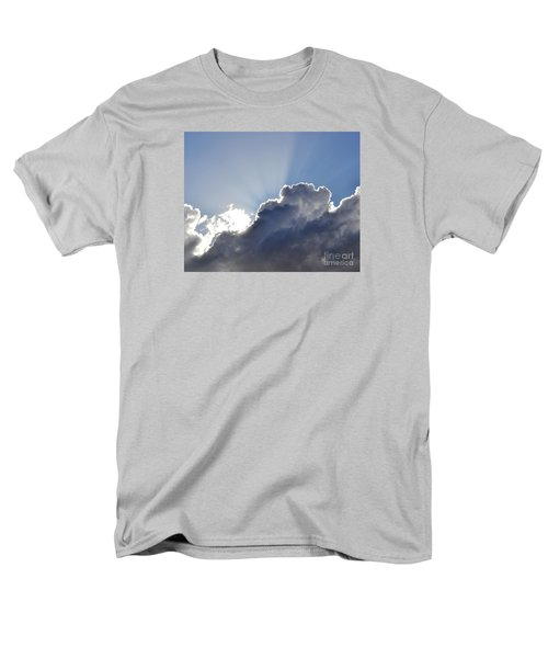Partly Cloudy Men's T-Shirt  (Regular Fit) by Rebecca Margraf