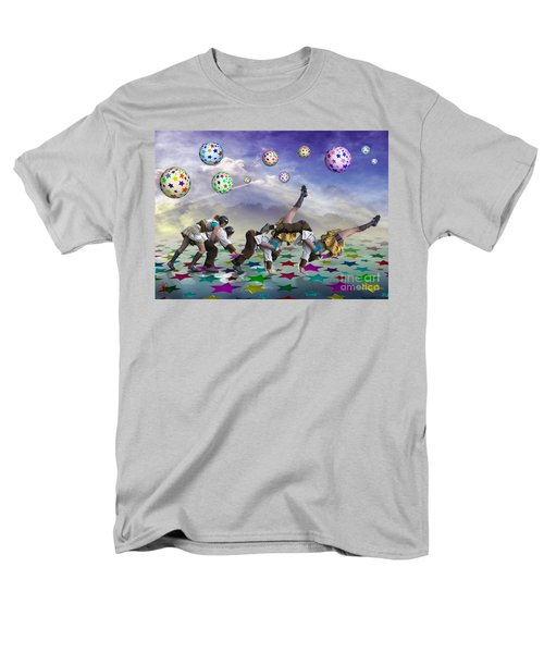 Men's T-Shirt  (Regular Fit) featuring the digital art Perfect Coupling by Rosa Cobos