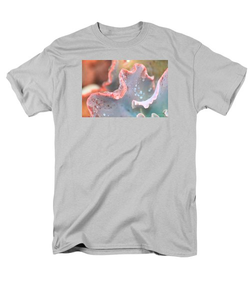 Men's T-Shirt  (Regular Fit) featuring the photograph Rain Drops Of Colors by Amy Gallagher