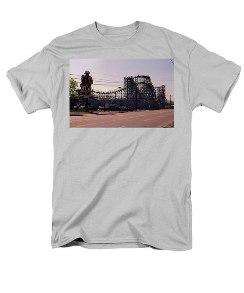 Men's T-Shirt  (Regular Fit) featuring the photograph Ride It Cowboy by Stacy C Bottoms