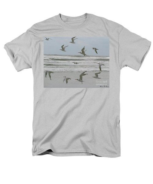 Men's T-Shirt  (Regular Fit) featuring the photograph Riding The Wind by Donna Brown
