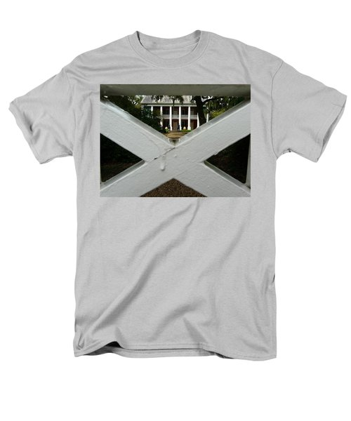 Shadows X On The Teche  Men's T-Shirt  (Regular Fit) by Rdr Creative