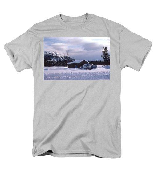 Anyone Got A Shovel? Men's T-Shirt  (Regular Fit) by Mark Alan Perry