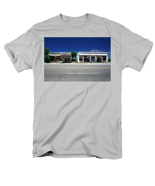Men's T-Shirt  (Regular Fit) featuring the photograph Somewhere On Hwy 285 Number Two by Lon Casler Bixby