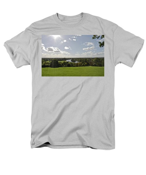 Men's T-Shirt  (Regular Fit) featuring the photograph Sun Glare by Maj Seda