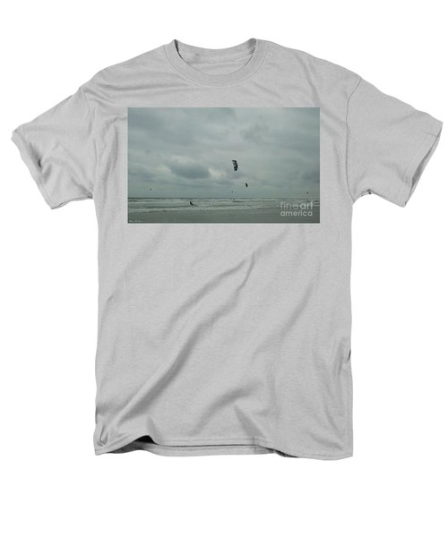 Men's T-Shirt  (Regular Fit) featuring the photograph Surfing The Wind by Donna Brown