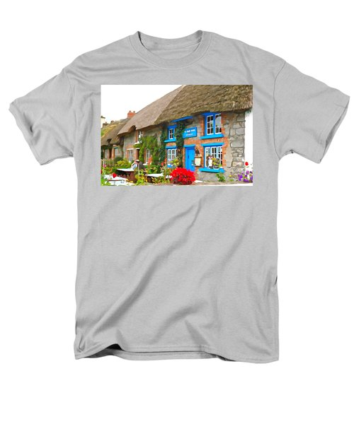 Men's T-Shirt  (Regular Fit) featuring the photograph The Blue Door by Charlie and Norma Brock
