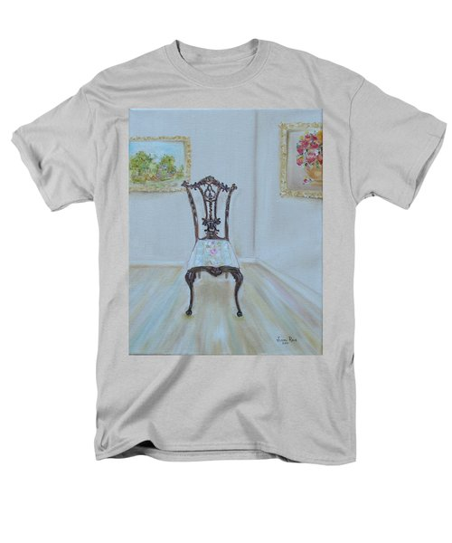 Men's T-Shirt  (Regular Fit) featuring the painting The Chair by Judith Rhue