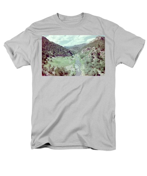 Men's T-Shirt  (Regular Fit) featuring the photograph The River by Bonfire Photography