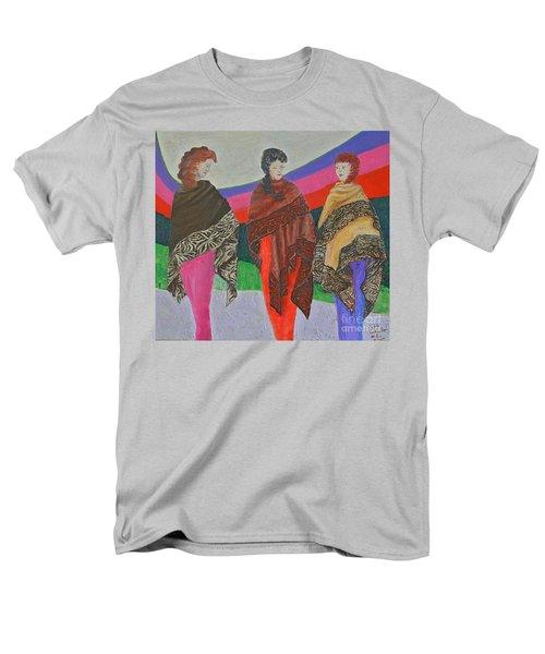 Three Women Men's T-Shirt  (Regular Fit) by Judith Espinoza