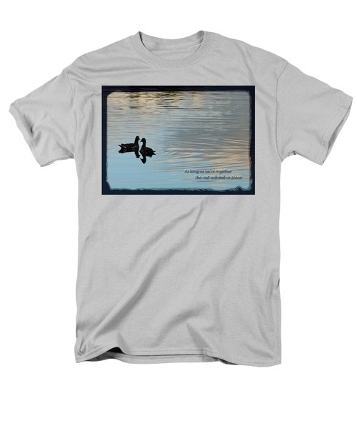 Men's T-Shirt  (Regular Fit) featuring the photograph Together by Steven Sparks