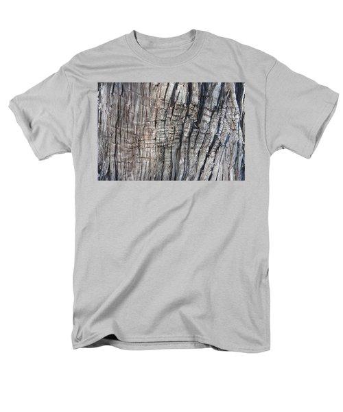 Tree Bark No. 1 Stress Lines Men's T-Shirt  (Regular Fit) by Lynn Palmer