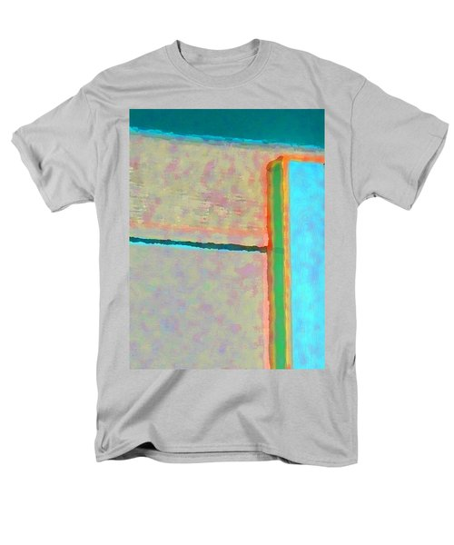 Men's T-Shirt  (Regular Fit) featuring the digital art Up And Over by Richard Laeton