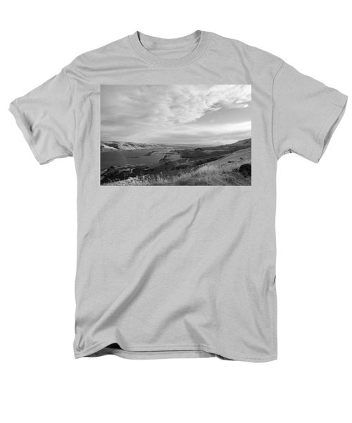 Men's T-Shirt  (Regular Fit) featuring the photograph View From The Hill Columbia River by Kathleen Grace