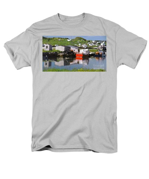 Men's T-Shirt  (Regular Fit) featuring the photograph Villiage by Lydia Holly