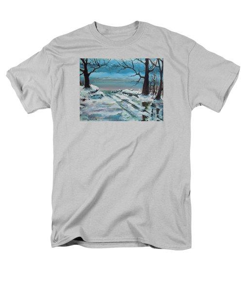 Washoe Winter Men's T-Shirt  (Regular Fit) by Dan Whittemore