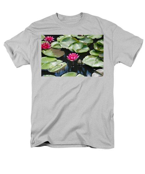 Men's T-Shirt  (Regular Fit) featuring the photograph Water Lilies by Jennifer Ancker
