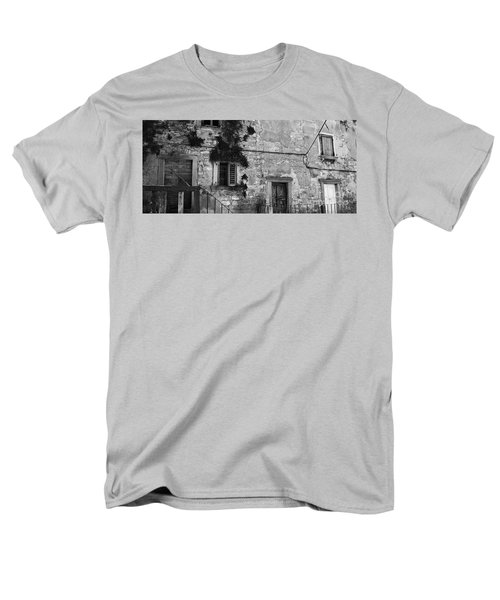 Men's T-Shirt  (Regular Fit) featuring the photograph Crumbling In Croatia by Andy Prendy