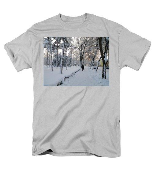 Men's T-Shirt  (Regular Fit) featuring the photograph Winter In Mako by Anna Ruzsan