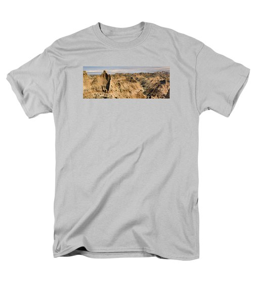 Men's T-Shirt  (Regular Fit) featuring the photograph  Badlands South Dakota by John Hix