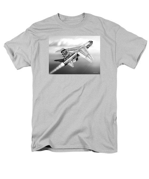 F-8e Crusader Drawing Men's T-Shirt  (Regular Fit) by Douglas Castleman