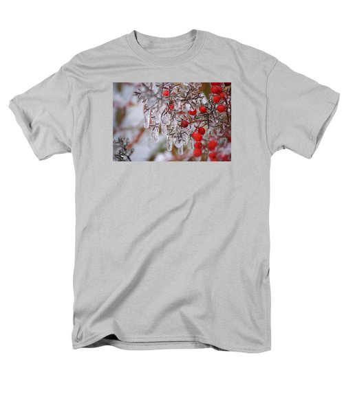 Holiday Ice Men's T-Shirt  (Regular Fit) by Heidi Poulin