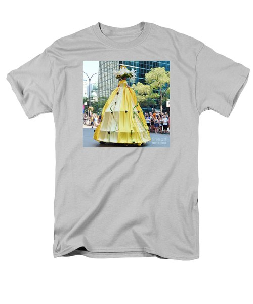 2015 Montreal Lgbta Parade  Men's T-Shirt  (Regular Fit) by Reb Frost