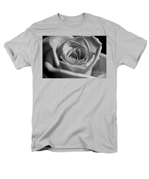 Men's T-Shirt  (Regular Fit) featuring the photograph Black And White Rose by Micah May