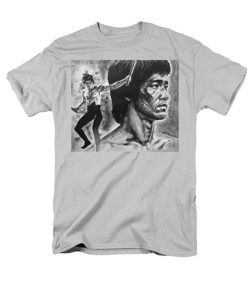 Bruce Lee Men's T-Shirt  (Regular Fit) by Darryl Matthews