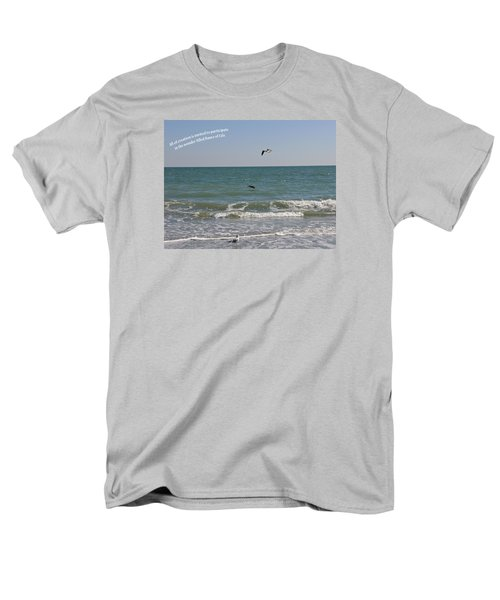 Men's T-Shirt  (Regular Fit) featuring the photograph Dance Of Life by Rhonda McDougall