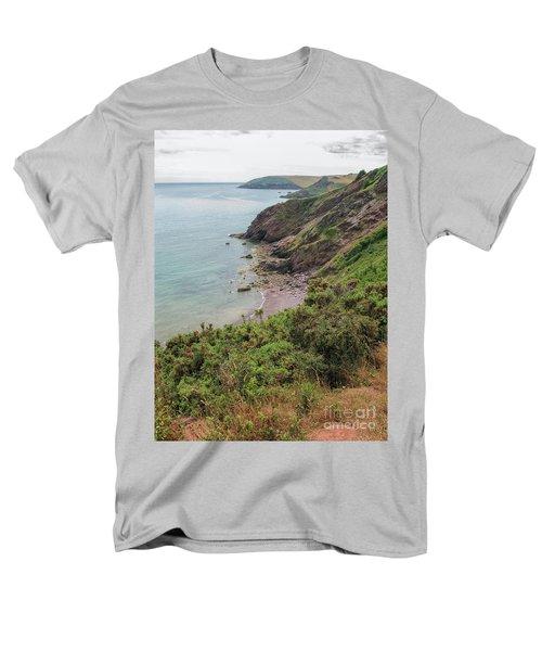 Devon Coastal View Men's T-Shirt  (Regular Fit) by Patricia Hofmeester