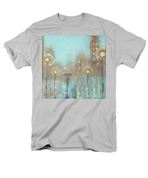 Men's T-Shirt  (Regular Fit) featuring the painting Evening Stroll by Raymond Doward