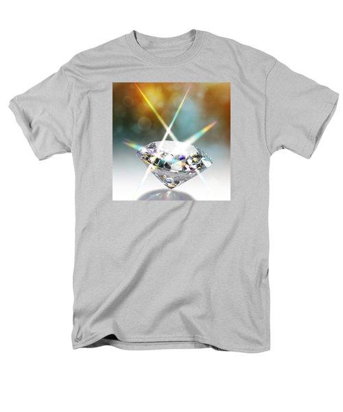 Flashing Diamond Men's T-Shirt  (Regular Fit) by Atiketta Sangasaeng