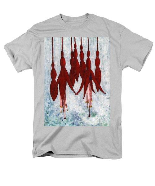 Fuchsia Men's T-Shirt  (Regular Fit) by Barbara Moignard