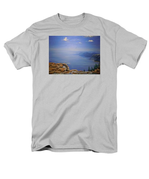 High Above Men's T-Shirt  (Regular Fit) by Dan Whittemore