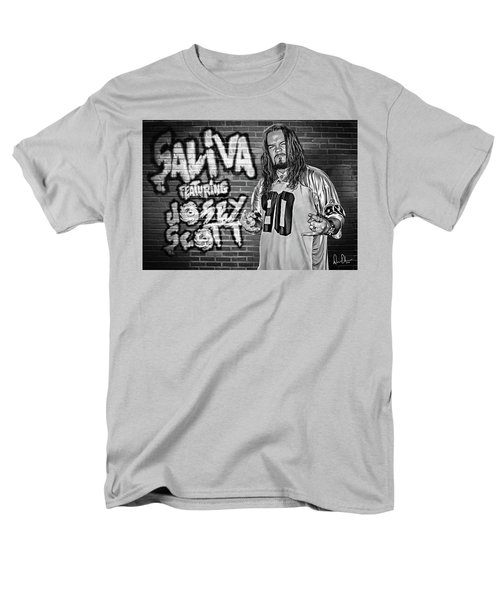 Josey Scott Saliva Men's T-Shirt  (Regular Fit) by Don Olea