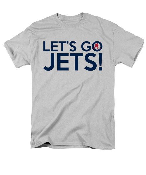 Let's Go Jets Men's T-Shirt  (Regular Fit)