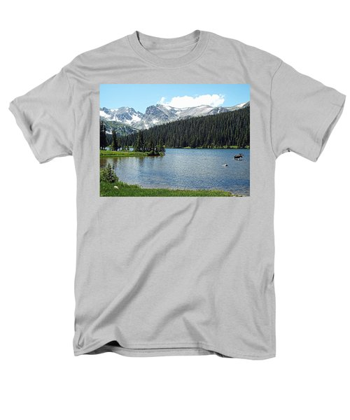 Long Lake Splender  Men's T-Shirt  (Regular Fit) by Joseph Hendrix