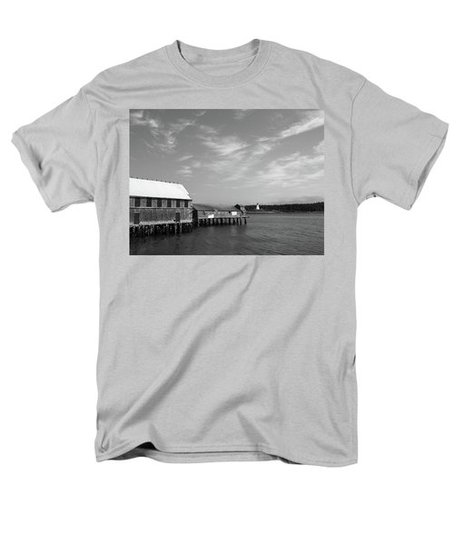 Men's T-Shirt  (Regular Fit) featuring the photograph Lubec, Maine by Trace Kittrell
