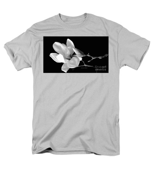 Magnolia In Monochrome Men's T-Shirt  (Regular Fit) by Jeannie Rhode