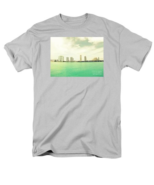 Miami  Men's T-Shirt  (Regular Fit) by France Laliberte