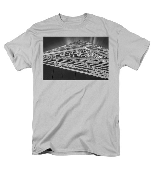 Men's T-Shirt  (Regular Fit) featuring the photograph Nyc West 57 St Pyramid by Susan Candelario