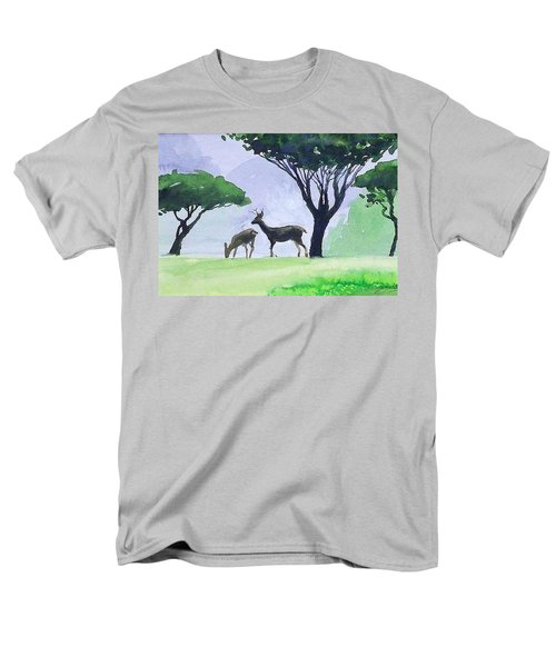 Point Lobos Men's T-Shirt  (Regular Fit) by Ed Heaton